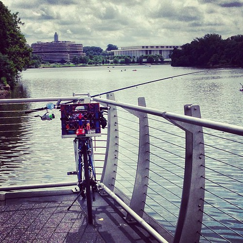 Bike-fishing