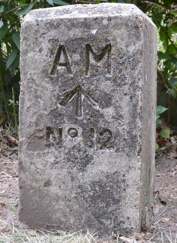 Air Ministry stone 058
