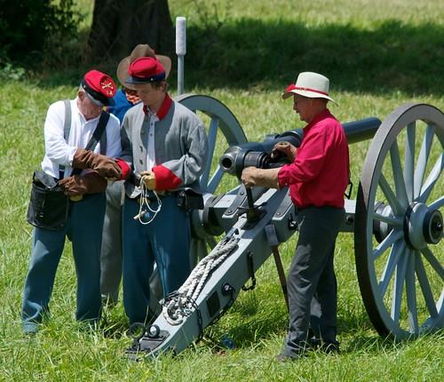 Louisiana Artillery Prepares
