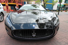 automobile(1.0), automotive exterior(1.0), maserati(1.0), vehicle(1.0), performance car(1.0), automotive design(1.0), maserati granturismo(1.0), land vehicle(1.0), luxury vehicle(1.0), supercar(1.0), sports car(1.0),