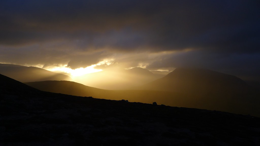Cairngorms sunset