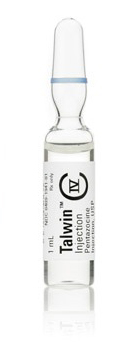 Talwin pentazocine iv 30mg 1ml ampoule Hospira