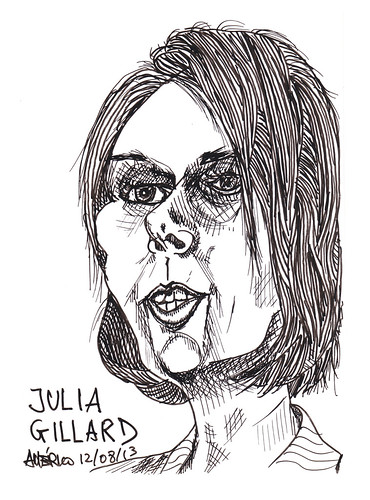 (40) Julia Gillard, former Prime Minister of Australia by americoneves