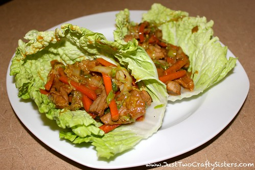 Mu Shu Pork wraps recipe