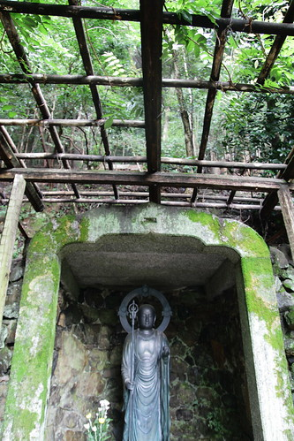Jizo-do, a cave for Jizo Buddhist image.