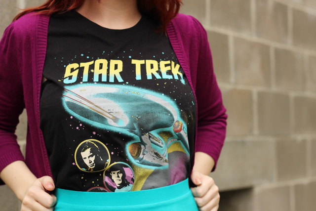 Star Trek the original series shirt