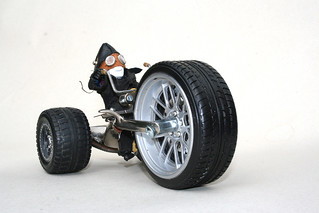 Aleron's big wheel trike