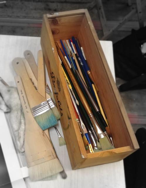 teve Murnaghan's brush box
