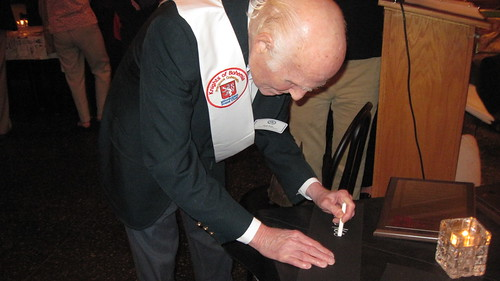 Former US Senator Herb Kohl Knighted as a Knights of Bohemia at our Annual Meeting on Sept. 19, 2013.