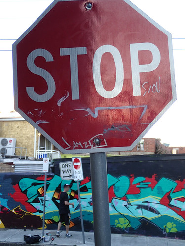 STOP - NSW Anti Graffiti laws discourage Street Art