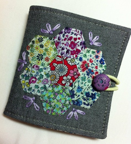 a wee Liberty needlebook for my URHere-swap partner