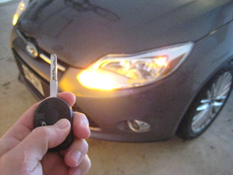 2012 Ford Focus Sedan Testing New Key Fob Battery Flickr