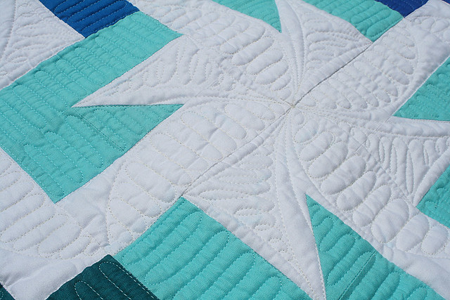 Sparkler quilt - off to Houston