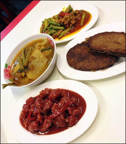 Vegetarian Festival food options