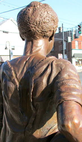 Sojourner Truth Statue- View of Back