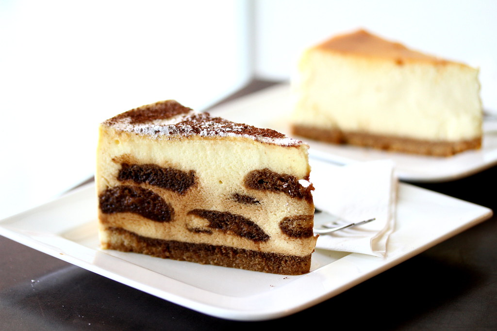 Backstage Cafe's Tiramisu