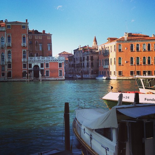 View from my hotel window in #Venice. #italy #travel