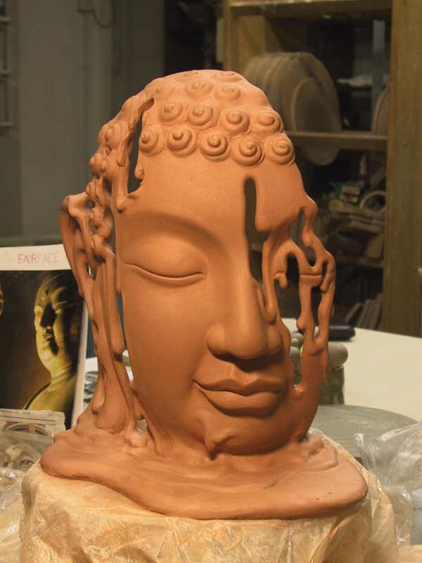 esculturas en cerámica