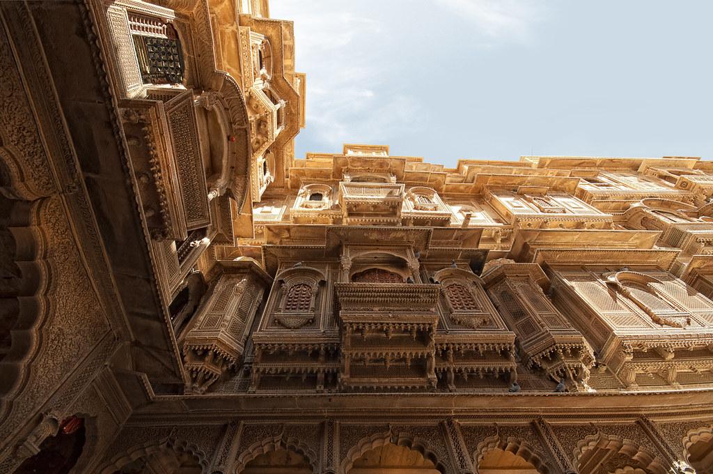 # 18/2013 - Rajasthan - India   (Patwon ki Haveli - Jaisalmer)