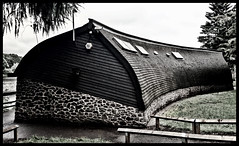 Curved Boathouse, Thornton Reservoir,Leicestershire #leicestershire#camera+ by davidearlgray