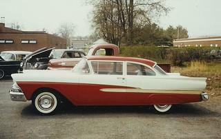 hank's 1958 ford custom 300 sedan