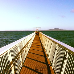 Browns Bay is gorgeous! Rangitoto in the background.