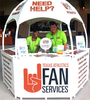 Texas Athletics Fan Services