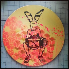 Gummo bunny baby on picture disc vinyl