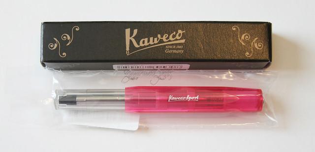 Kaweco ICE Sport Pink Rollerball - Medium