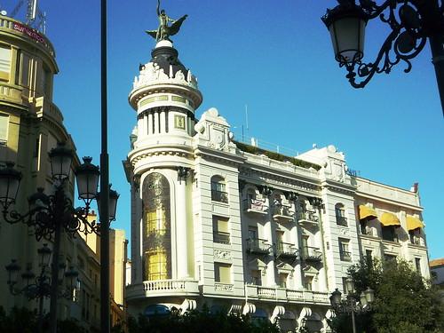 Stadtleben auf Cordobas Plaza Tendillas