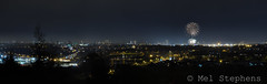 Finally! Bonfire night, from Tollohill Wood. Panorama. Very high resolution, so view large!...