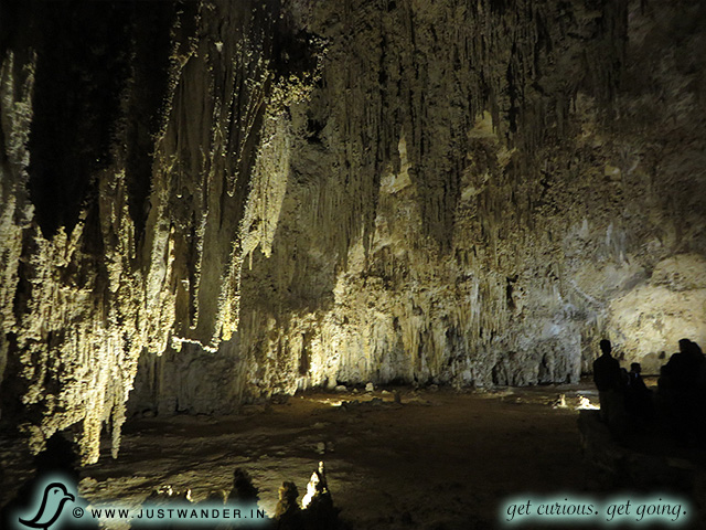 PIC: Carlsbad Caverns - Can't recall if this is what they call - The Big Room - here at Carlsbad Caverns... but can you say, Vaulted ceilings?!