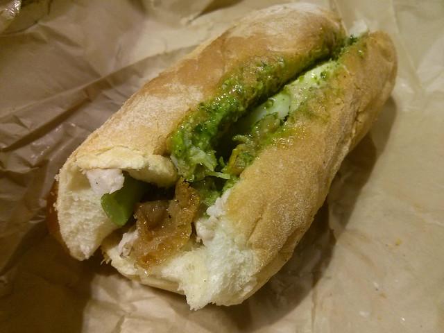 Porchetta Sandwich @ Victoria Public Market | Victoria, Canada
