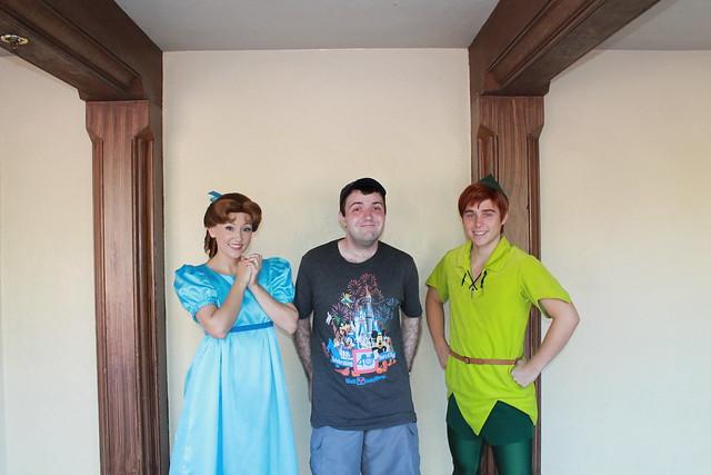 Peter Pan & Wendy Darling