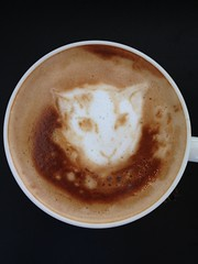 Today's latte, @shiumachi