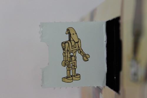 LEGO Star Wars 2013 Advent Calendar (75023) - Day 13 - Battle Droid