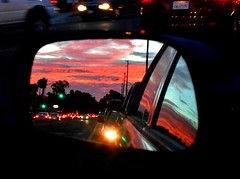 Rearview Mirror Photography