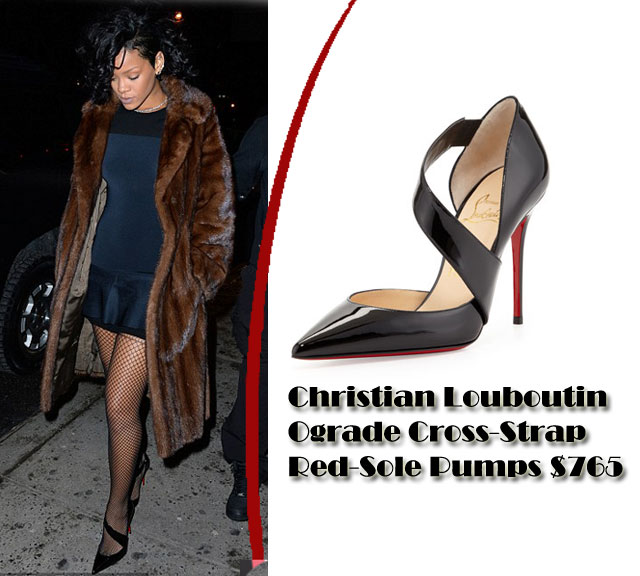 christian louboutin ograde pointed-toe pumps