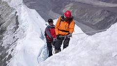Na grani szczytowej Island Peak 6189m