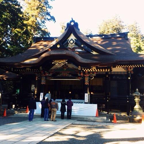 本日ラストは香取神宮に。これで東国は安泰ですw江戸の頃は、関東、東北の人にとって「お伊勢参り」の帰り途に「下三宮参り」として東国三社にもお参りする習慣があったそうで、式年遷宮から明けた年に詣でるにはピッタリだったかなと。奥の宮も素敵でした。#shrine
