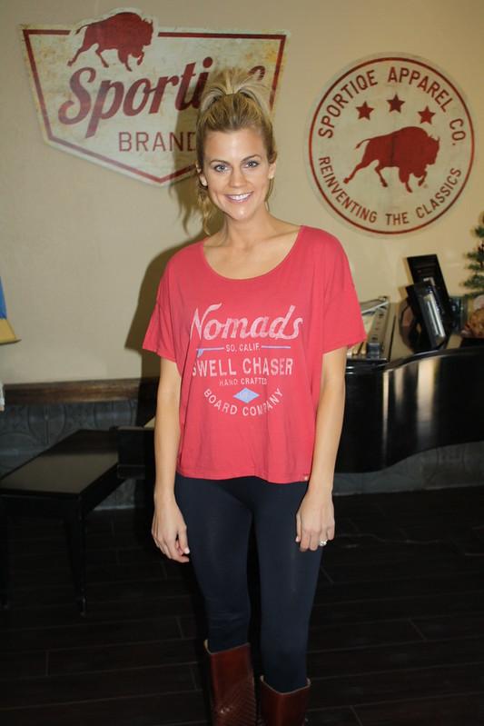Samantha Steele Ponder In Sportiqe STEELE Style