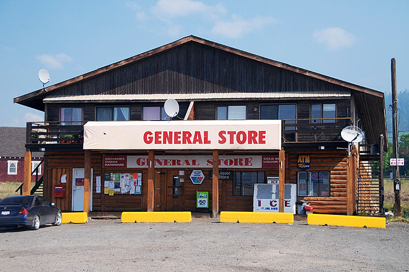 General Store in Alexis Creek,Chilcotin, BC