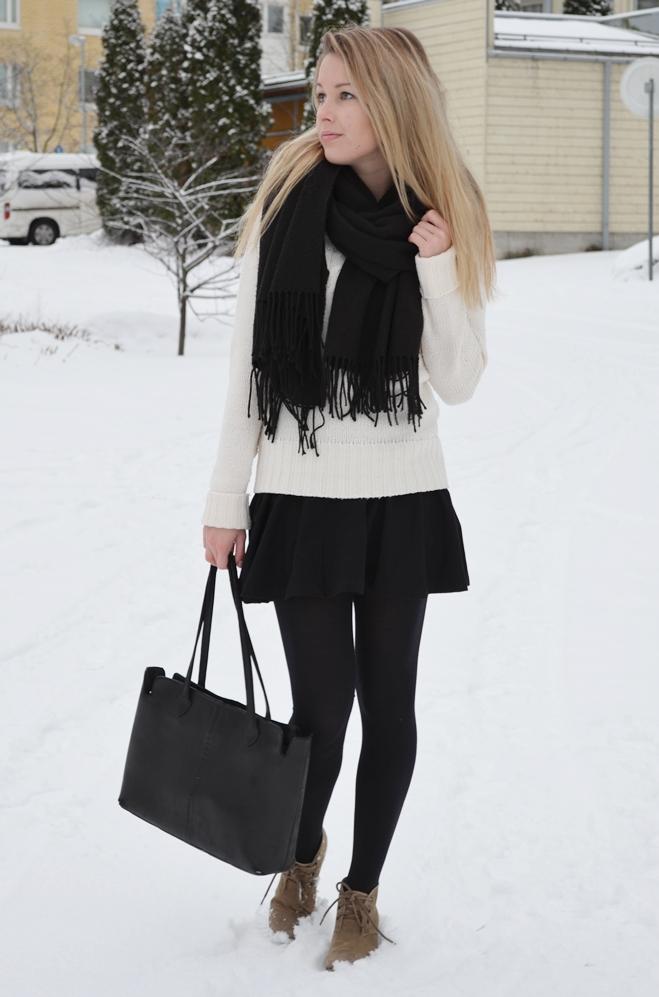 a piece of inspiration black skirt. Black Bedroom Furniture Sets. Home Design Ideas