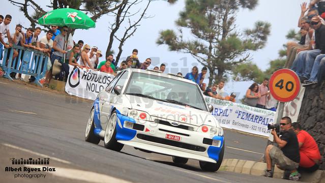 Nicomedez Perez & Ivan Garcia - Ford Escort RS Cosworth