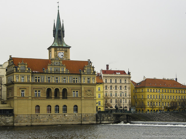 Praga desde el río