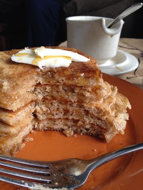 Homemade pancakes healthy
