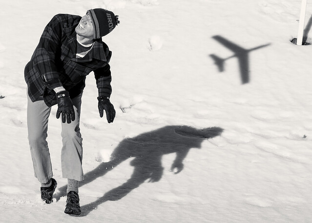 Brad and Plane Shadow