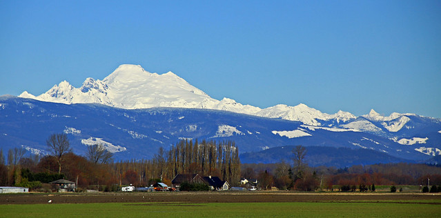Mount Baker Overlooks Skagit Valley