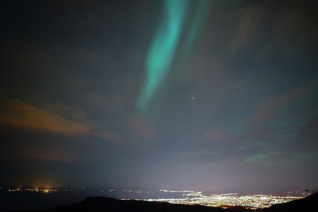 Northern Lighting over Trondheim