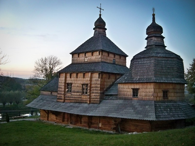 Tserkvas de madera Ucrania